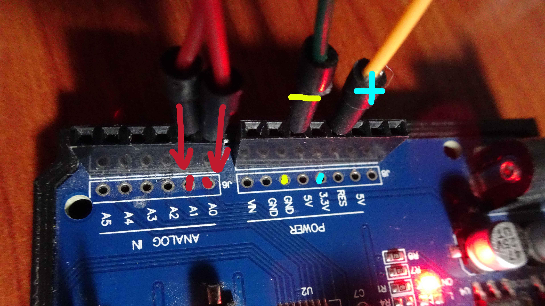 Arduino LDR Devre Giriş Noktaları
