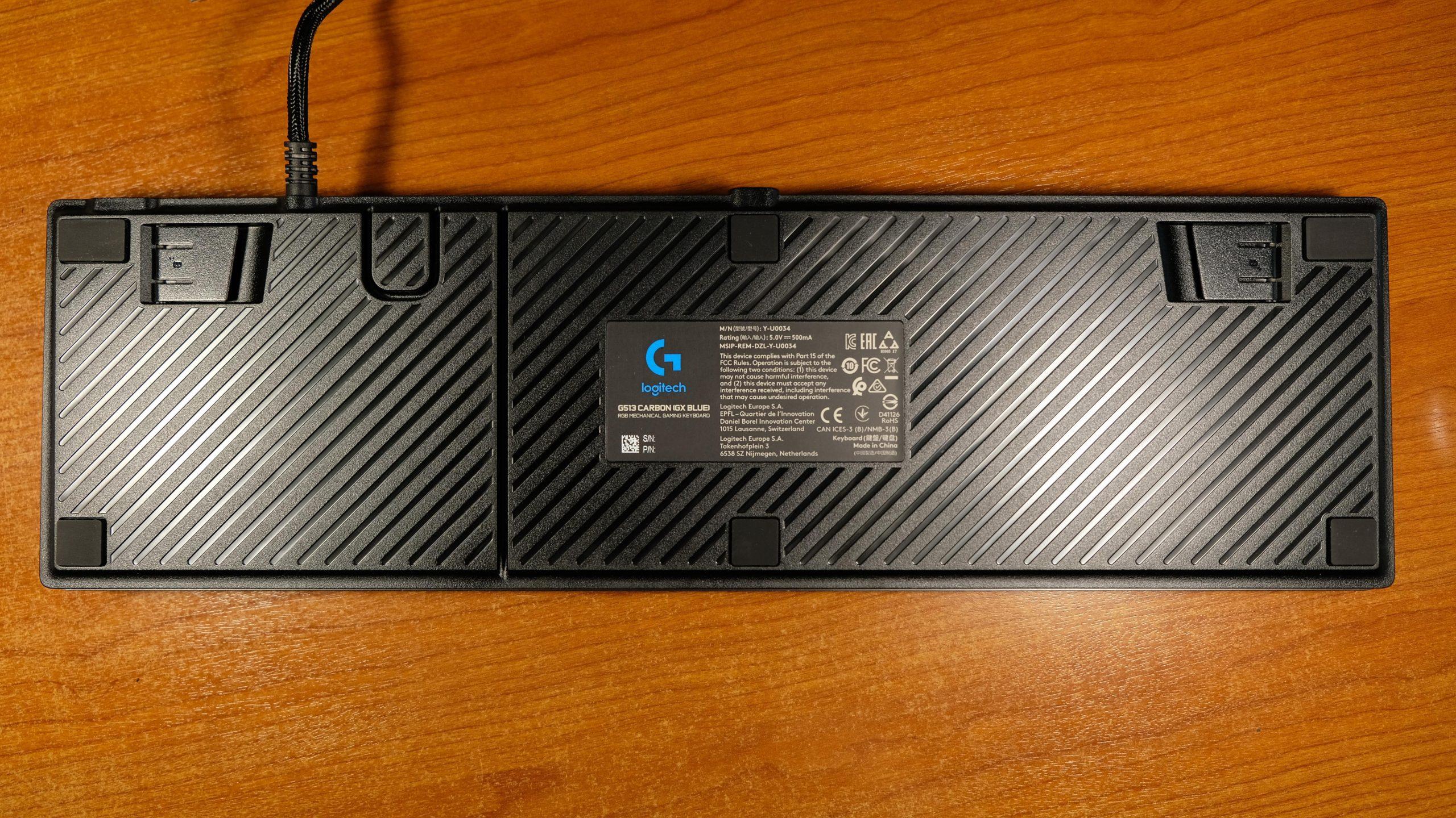 Logitech G513 Carbon Arkası