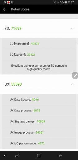 Samsung Galaxy Note 8 Antutu Testi